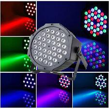 80W LED RGB Lighting Auto Strobe Sound Control DMX512 Remote Control Stage Light