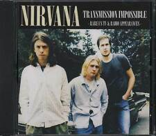 Nirvana - Transmission Impossible Rare CD [CDl New] Limited Edition Import 500