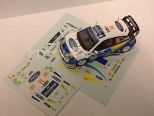 "DECAL CALCA 1/43 FORD FOCUS WRC ""MOVISTAR"" D. SOLA - RALLY ALEMANIA 2005"