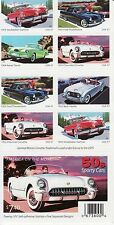 AMERICA ON THE MOVE STAMP BOOKLET -- USA, #3931-3935B 37 CENT CARS AUTOMOBILES