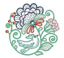 JACOBEAN SPRING - 20 MACHINE EMBROIDERY DESIGNS