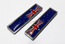 2pcs Alloy Australia AU Flag Badges for Car SUV Truck 3D Emblems Stickers 3D