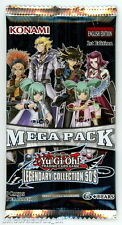 YuGiOh! Legendary Collection 5D's Mega-Pack 1st Edition Sealed Booster Pack x1