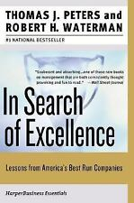 Collins Business Essentials: In Search of Excellence : Lessons from America's...