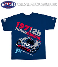 PORSCHE 917 SEBRING 1971 VICTORY VIC ELFORD TEE SHIRT Collection