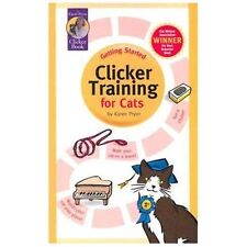 Clicker Training for Cats (Karen Pryor Clicker Books), Karen Pryor, New Books