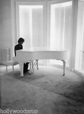 JOHN LENNON THE BEATLES AT WHITE GRAND PIANO IMAGINE PHOTO POSTER PRINT REPRINT