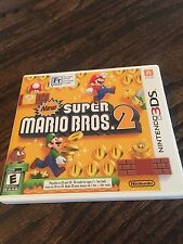 NEW SUPER MARIO BROS 2 Nintendo 3DS Cindy Game Works L@@K X1