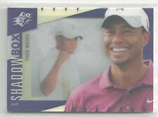 2011 UD World of Sports Tiger Woods Shadowbox SPX RARE!