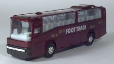"FF Foot Track City Transit Tour Bus 7.5"" Pull Back And Go Die Cast Scale Model"