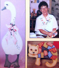ART LESSON- INSTRUCTIONAL VHS VIDEO-NANCY MICHAEL-CAT & GOOSE PROJECT-ACRYLIC