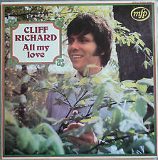 "CLIFF RICHARD ""ALL MY LOVE""  LP"