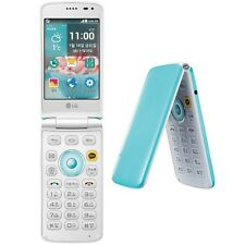 LG Ice Cream Smart F440L Blue 8MP GSM 2G 3G 4G Android Flip Smartphone Clamshell