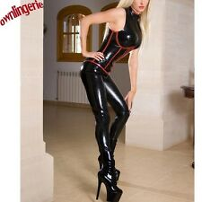 Luxury Latex Pvc Black Catsuit - Please Advise Me Your Preferred Size- S - XXL