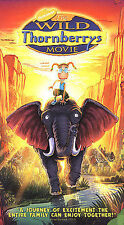 The Wild Thornberrys Movie VHS 2003 Clamshell Nickelodeon
