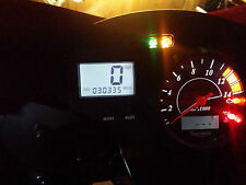 WHITE triumph daytona 600 650  led dash clock conversion kit lightenUPgrade