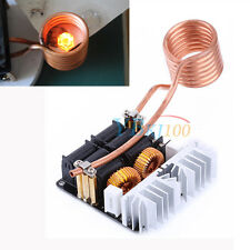 1000W 20A ZVS Low Voltage Induction Heating Board Module Tesla with Coil 12-48V