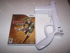ZELDA LINK'S CROSSBOW TRAINING + CONTROLLER - Nintendo WII - UK PAL