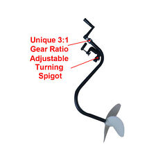 NEW HAND OPERATED OUTBOARD MOTOR INFLATABLE BOAT TROLLING MOTOR BOAT PROPELLER