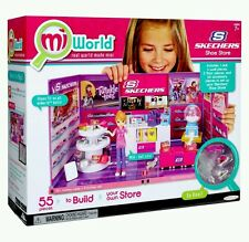 NEW Mi World MiWorld Mini SKECHERS Shoe Store Playset Sealed