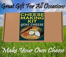 Fabbricazione del formaggio KIT formaggio di capra Grande regalo di compleanno Make Your Own