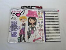 Fashion Angels Artist Set Fashion Design Sketch Portfolio  ~ Almost Complete