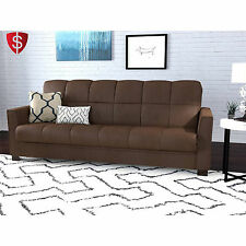Convertible Sofa Bed Couch Sleeper Futon Lounger Chair Living Room Guest Chair