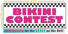 BIKINI CONTEST Banner Sign NEW Larger Size for Adult Club Bar Spring Break