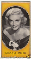 MADELEINE CARROLL  ACTRESS ACTRICE England America USA IMAGE CARD 30s
