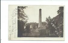 Real Photo Postcard Post Card Morrison Illinois Ill Il Water Works