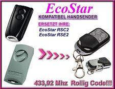 Ecostar RSC2, Ecostar RSE2 Kompatibel Handsender, Ersatz sender 433,92Mhz