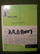 The World Today Series: Africa 1993 28th Annual Edition (1993, Hardcover)
