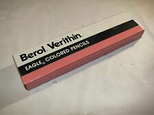 12 New Vintage Berol Prismacolor Verithin Colored Pencils #760 Blue Violet