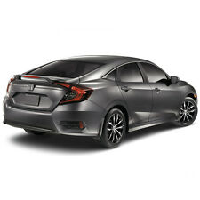 SPOILER PAINTED Factory Style With Brake Light For: HONDA CIVIC 4 DOOR 2016-2017