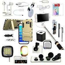 All in 1 Accessory Bundle Case Bluetooth Speaker For Samsung Galaxy S6 Edge Plus