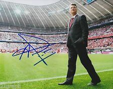 Louis van Gaal In-Person Signed 8x10 Photo PROOF & COA Manchester United Dutch 3