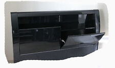 Wave DOUBLE Bed with Tilt Up Storage & Drawers - Hi Gloss Black - BRAND NEW