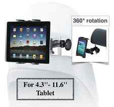 Car Headrest Mount Holder For iPad 2 3 4 5 Mini Galaxy Note For 4.3'' to 11.6''