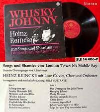 LP Heinz Reincke: Whisky Johnny - Songs & Shanties (Telefunken SLE 14 406) D 65