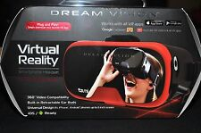 Tzumi Dream Vision Virtual Reality Smartphone Headset Black/Red BRAND NEW