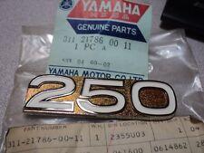 1972-73 YAMAHA DT2 DT3 DT 250 EMBLEM 6 SIDE COVER NOS OEM PN 311-21786-00-11