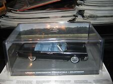 JAMES BOND CAR COLLECTION:132 LINCOLN CONTINENTAL CONVERTIBLE .