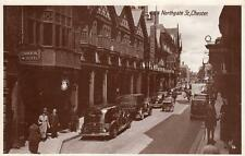 Northgate Street Chester (B) Motor Car unused RP pc