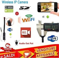 MINI WIFI IP SD SPY CAM CCTV WIRELESS SORVEGLIANZA VIDEO CAMERA IPHONE ANDROID