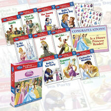 Disney Princess Level 1 Reading Adventures collection 10 Books Set