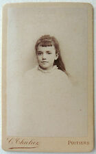 CDV PHOTO THIOLIER à POITIERS PORTRAIT ENFANT M712