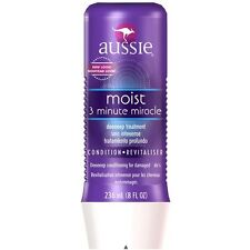 Aussie 3 Minute Miracle Deep Conditioner 8 oz-- 3 PACK