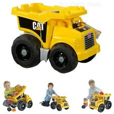 Megabloks CAT Large Vehicle Dump Truck For Kids - New