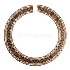 Classical Guitar Sound Hole Rosette Soundhole Wood Inlaid
