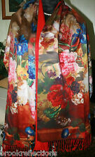 "100% Pure Silk Wrap/Scarf*LuxuryWarm/Soft*Silk,Lined* SPECIAL/Shawl A1Gift-53""BR"